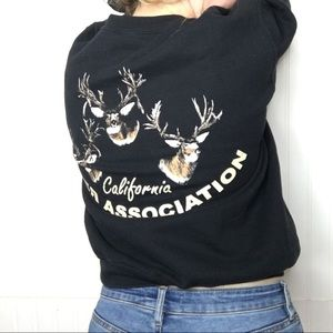 CA Deer Association Dad Sweatshirt